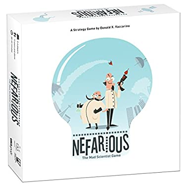 Nefarious: The Mad Scientist Game! Board Game