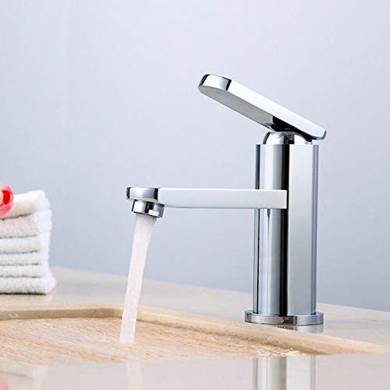 Rmckuva Waschtischarmaturen Moderner Einhand-Wasserhahn Mit Verchromtem Spiegeleffekt-Messingmischer