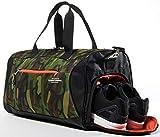 TOMMYVERSAL Sporttasche Herren Damen Camouflage stylische Fitnesstasche Reisetasche Sporttasche mit
