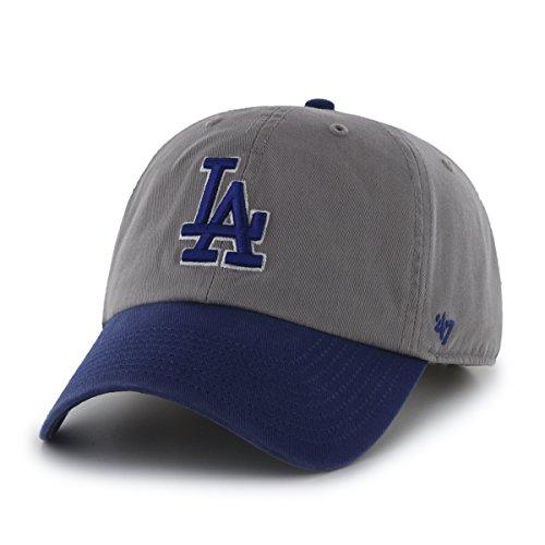 47 Brand MLB LA Dodgers Clean Up Cap - Grey