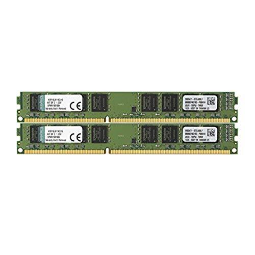Kingston ValueRAM 16GB Kit (2x8GB) 1600MHz DDR3L Non-ECC CL11 DIMM 1.35V Desktop Memory KVR16LN11K2/16