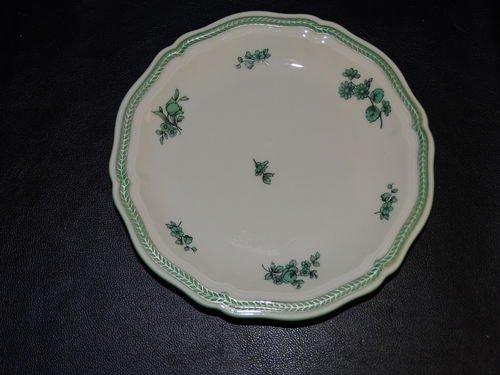 Rosenthal Chippendale grüne Blume: Brotteller / kleiner Teller