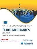 Fluid Mechanics For MU B.E. Mechanical Engineering and Automobile Engineering Sem 4