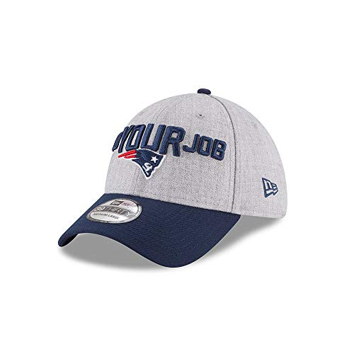 New England Patriots 2018 OnStage Draft 39THIRTY Hat, Small/Medium