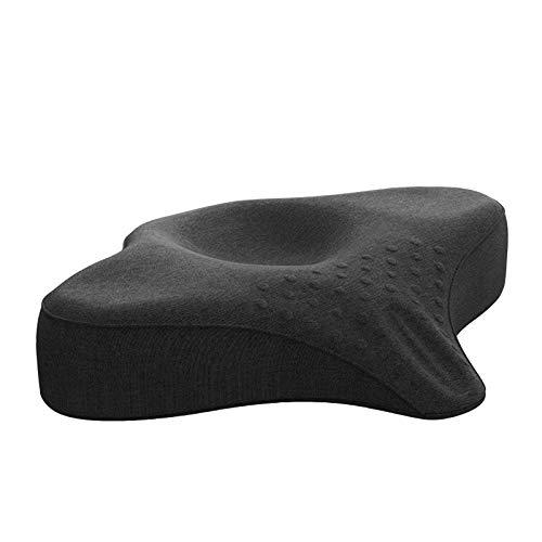 JFF Cervical Memory Foam Kissen Für Das Schlafen - Ergonomisches Anti-Schnarch-Kissen Für Nackenstütze Und Schulterschmerzen Entspannen Sie Ihre Kopfmuskeln,M