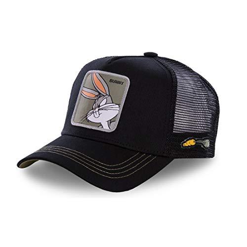 Collabs Gorra Bugs Bunny, colección Looney Tunes - Color Negro, Talla única y Unisex