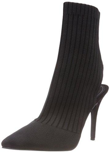 Kendall + Kylie Damen KKADRIAN Pantoletten, Schwarz (Black Knit 000), 39 EU