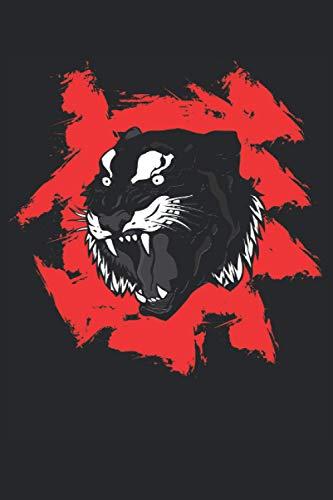 Tiger: Quaderno a righe, taccuino, diario, ToDo, quaderno, libro di storia (15. 24 x 22. 86 cm; circa A5) con 120 pagine. Regalo per tutti gli amanti ... grandi felini africani e dei grandi felini.