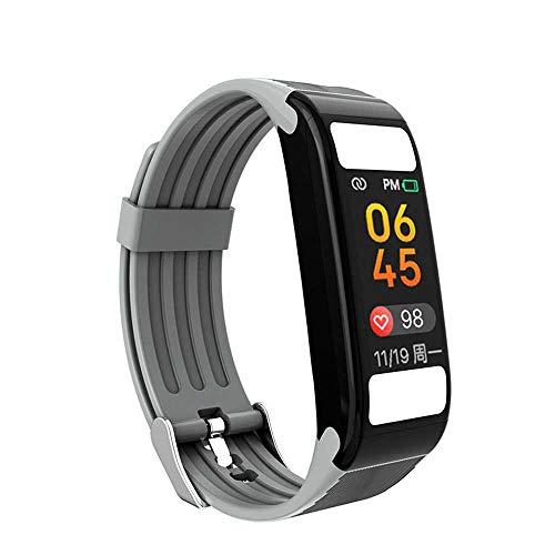 YANGPANGZI Ejercicio de Grasa Corporal Pulsera Inteligente frecuencia cardíaca monitoreo del sueño recordatorio de información de Llamadas Bluetooth múltiples Modos de Ejercicio