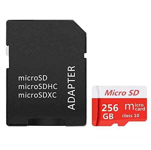 tableta y PC Gentai Tarjeta Micro SD de 256GB//400GB//512GB//1024GB Clase 10 SDXC de alta velocidad con adaptador SD para tel/éfono 1024GB-B