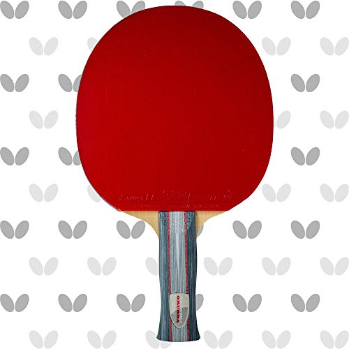 Save %14 Now! Butterfly Andrzej Grubba Blade with Sriver EL 2.1 Rubbers Pro-Line Table Tennis Racket