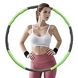 LangKing Hula Hoop,Hula Hoop Reifen Erwachsene, 6-8 Segments Removable Hula Hoop...