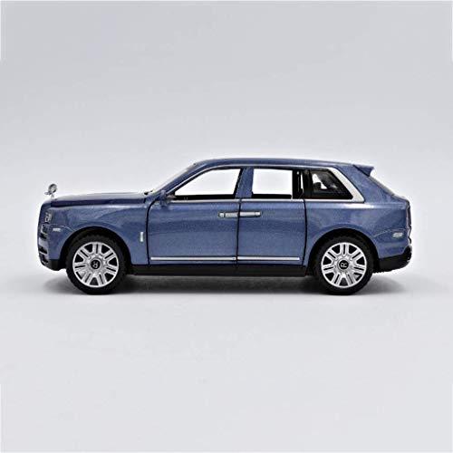HTDZDX Model Car 01.32 Rolls-Royce Cullinan Simulation Legierung Auto-Zubehör Erwachsener Metallspielzeugauto 7 Tür SUV SUV Sammlung Kinderspielzeug