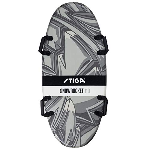 Stiga Unisex-Youth Snowrocket Graffiti 110 Black Foamboard, 110 cm