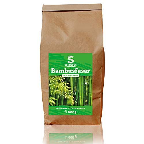 Bambusmehl 600 g zum Backen und Kochen   vegan   glutenfrei