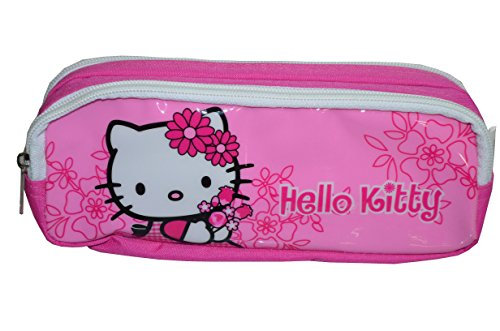 Hello Kitty - Trousse Double Compartiment