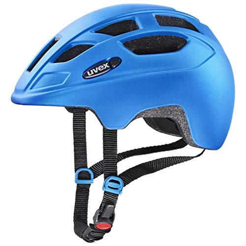 Uvex Unisex Jugend, finale jr. cc Fahrradhelm, blue mat, 51-55 cm