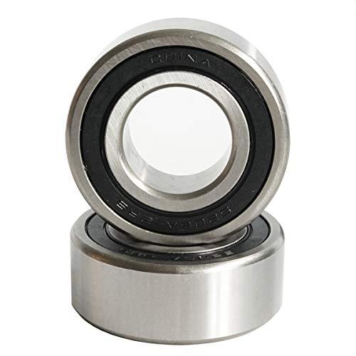 q&p Outdoor Power 2 Pieces 5206-2RS C3 Premium Double Row Angular Contact Ball Bearing