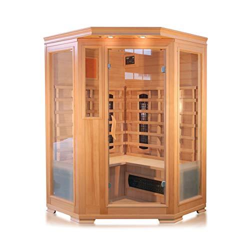 XXL Luxus LED Infrarotsauna-Infrarotkabine-Wärmekabine Sauna