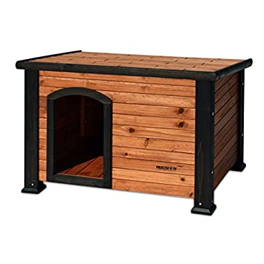 Precision Pet Outback Log Cabin Dog House, Medium, 45 1/2  x26 5/8  x 27 1/2