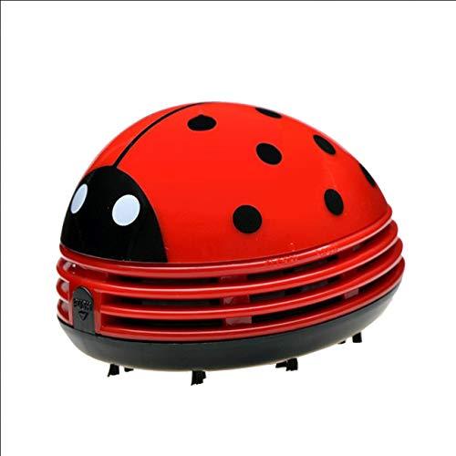 Ba30DEllylelly Aspiradora Port¨¢Til Ladybug Stawberry Escritorio con Teclado Aspirador de Polvo de Escritorio