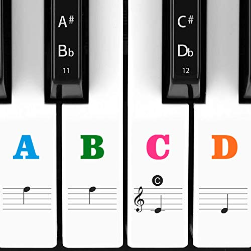 Our #6 Pick is the Crosby Audio Monster Piano Keyboard Stickers