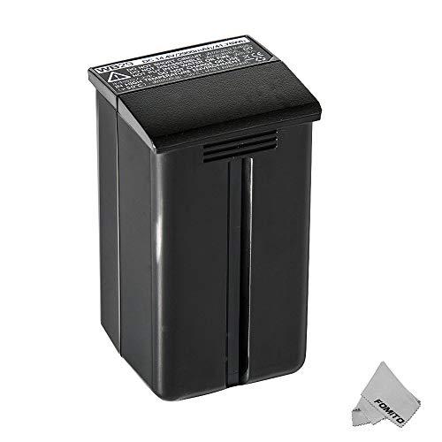 Fomito Godox WB29 DC 14,4 V 2900 mAh 41,76 Wh Lithium-Batterie-Netzteil für Godox AD200 AD200Pro Flash
