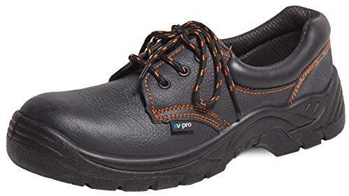 V-Pro 3ZAP250N/T46 Zapatos de seguridad, Negro, 46