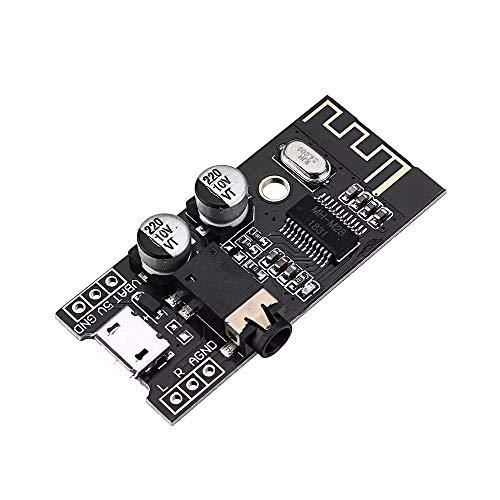 Kit de herramientas electrónicas de bricolaje M28 módulo receptor de audio bluetooth 4.2 con interfaz de audio de 3,5 mm Altavoz de coche sin pérdidas Placa de amplificador de auriculares Ajus