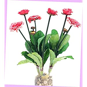 Artificial Mini Aster Spray Stems Pink 3 Per Order 14″ T 1″ & 2″ Blooms Silk Artificial Flowers Bouquet Realistic Flower Arrangements Craft Art Decor Plant for Party Home Wedding Decoration
