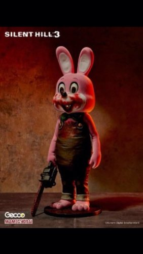 Gecco Silent Hill 3: Robbie The Rabbit PVC Figure (Pink Version)