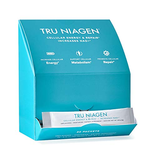 TRU NIAGEN NAD+ Booster for Cellular Repair & Energy Metabolism (Nicotinamide Riboside Powder) - 300mg Per Serving - 30 Day Supply