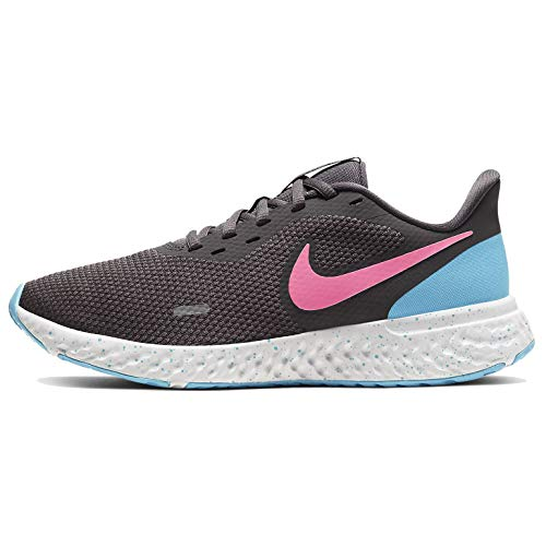 Nike Women's Revolution 5 Running Shoe, (Thunder Grey/Digital Pink), 38.5 EU