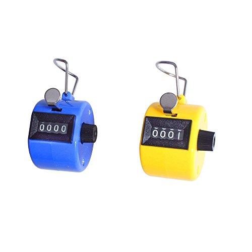 Efbock contador de cuentos manuales, números de Buda, contador de golf, varios colores, 2 unidades