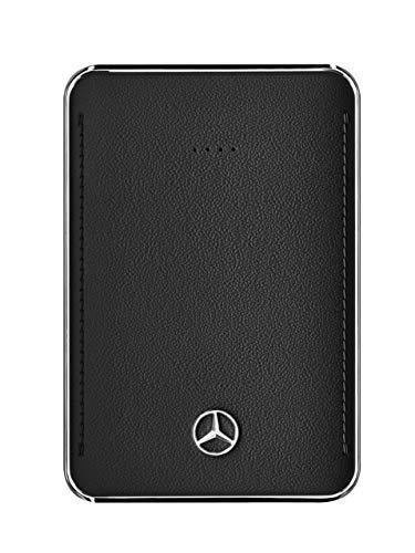 Mercedes-Benz Collection Powerbank, 5.000mAh   Powerbank/Mobile Ladestation mit Mercedes Logo   Silber, schwarz