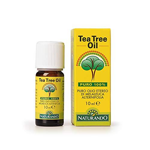 Naturando TEA TREE OIL FLACONE DA 10 ML - 100% puro olio di Melaleuca Alternifolia