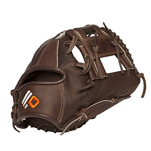 NOKONA X2-1150 Handcrafted X2 Elite Baseball Glove - Right Hand Throw, I-Web for Infield Positions, Adult 11.5 Inch Mitt, Made in The USA