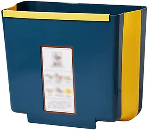 OMIDM Service Trash can 2.38Gal Max 50% OFF New popularity Collapsible Can Hanging Un