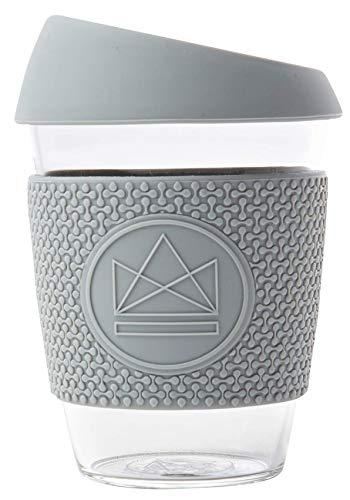 Neon Kactus Reusable Coffee Cups 12oz (Grau)