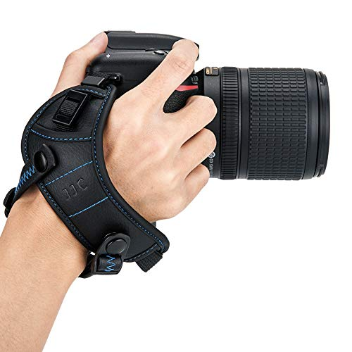 JJC Deluxe DSLR Camera Hand Strap with Quick Release Plate
