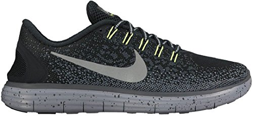 Nike Herren, Free Rn Distance Shield Black - Sneakers, Schwarz, 40,5 EU