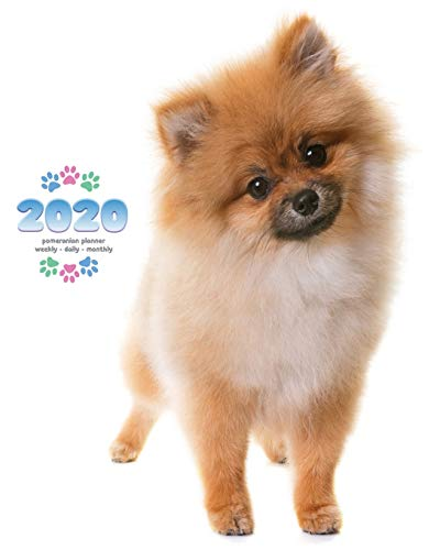 2020 Pomeranian Planner - Weekly - Daily - Monthly