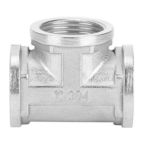 Cikonielf Gewinderohr 304 Edelstahl-Verbindungsrohrregal Haushaltswerkzeug(1 * 1 * 1)