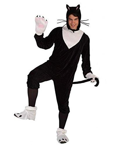 Atosa - Disfraz de gato para hombre, talla M/L (5889)