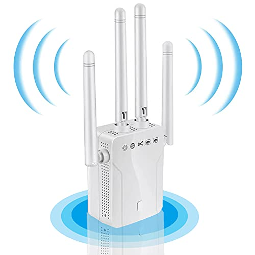 2021 WiFi Extender and Signal Amplifier,Wall-Through Strong WiFi...
