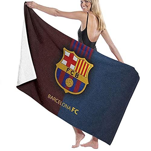 Bar-celo-na FC Toallas de playa ultra absorbentes toalla de baño de microfibra Picnic Mat para hombres mujeres niños