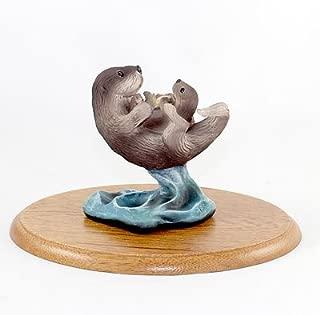 Stone Resin Realistic Sea Otter Figurine