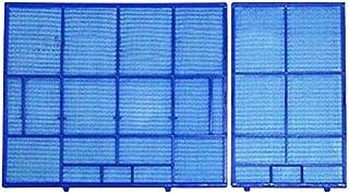 Zyj stores Filtro para Aire Acondicionado 1 Conjunto de Pared acondicionador de Aire del Filtro de Polvo Filtro KFR-36G / 36G-J KFR/E Traje for Mitsubishi DB/ZB/FC/YD/YC/FD/Serie BF Reemplazar