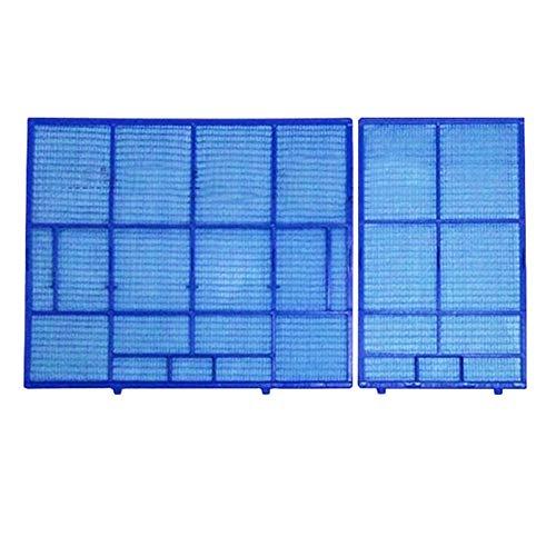 XUANLAN Filtro de Aire Acondicionado de Repuesto 1 Conjunto de Pared acondicionador de Aire del Filtro de Polvo Filtro KFR-36G / 36G-J KFR/E Traje for Mitsubishi DB/ZB/FC/YD/YC/FD/Serie BF Durab