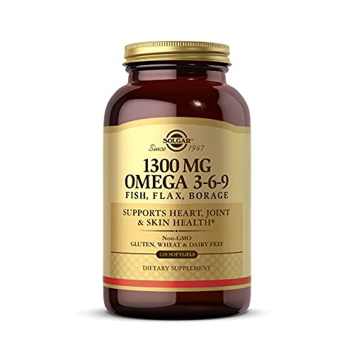 Solgar 1300 mg Omega 3-6-9, 120 Sof…